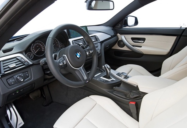 2015 BMW 4 Series Gran Coupe 428i Interior Pictures