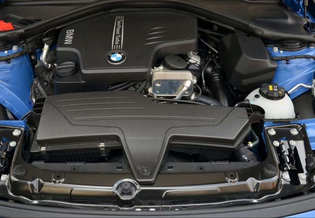 2015 BMW 428i Grand Sport Engine Bay Pics