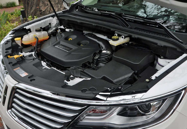 2015 Lincoln MKC Engine Bay Pictures