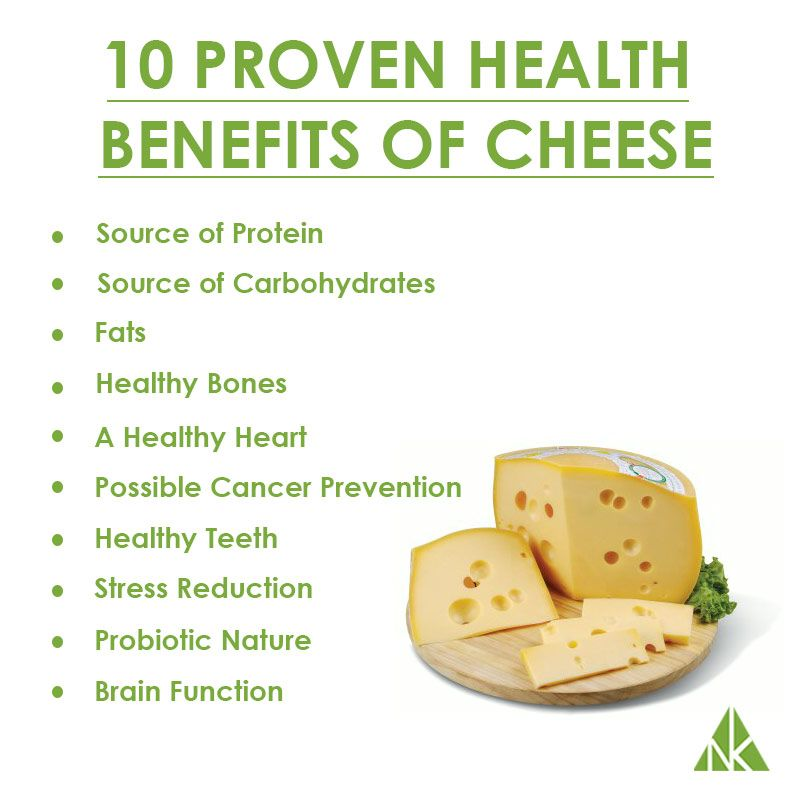 Proven Health Benefits of Cheese